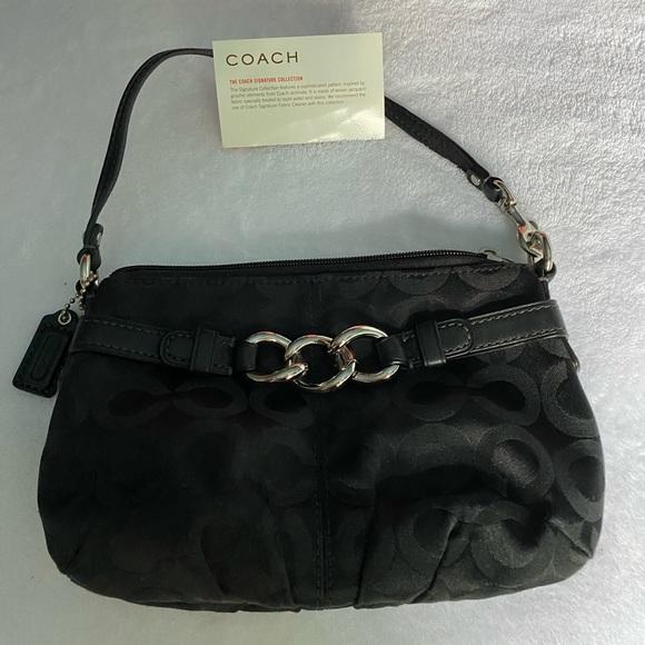 Coach Handbags - Black coach clutch